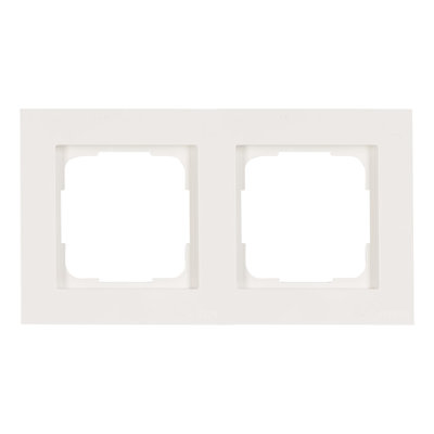 Opus 55 Kubus Polarweiss (RAL 9016) Afdekraam tweevoudig