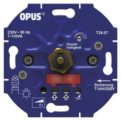 Opus LED dimmer minimale belasting 3 watt maximale belasting 85 watt