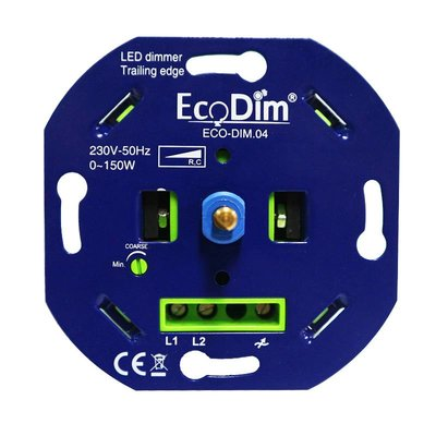 ECO.04 led dimmer fase afsnijding 0-150W LED vermogen