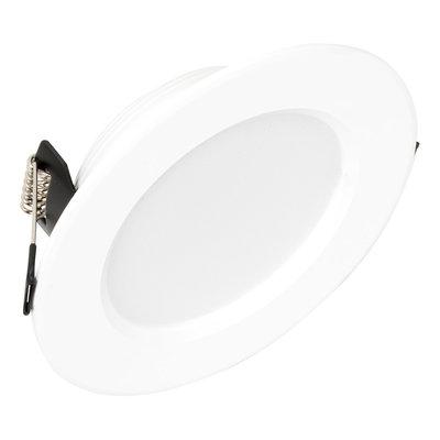 LED Inbouw Spot Dimbaar Badkamer Geschikt IP 44 ***Warm Wit 3000 Kelvin*** 3 Watt vervangt 50 Watt Inbouw Diepte ↕ 35 mm Witte behuizing.
