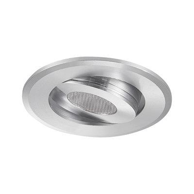 LED Inbouw Spot Dimbaar Badkamer Geschikt IP 44 Extra Warm Wit 2700 Kelvin 3 Watt vervangt 50 Watt Inbouw Diepte ↕ 25 mm Chromen behuizing.