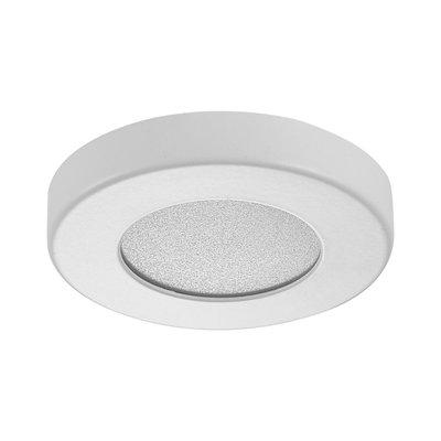 LED Opbouw Spot Dimbaar Badkamer Geschikt IP 44  Extra Warm Wit 2700 Kelvin 3 Watt vervangt 50 Watt Opbouw Hoogte ↕ 10 mm Wit