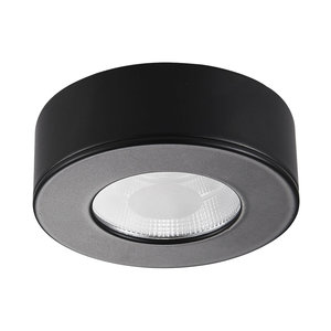 LED Opbouwspot Dimbaar Zwart
