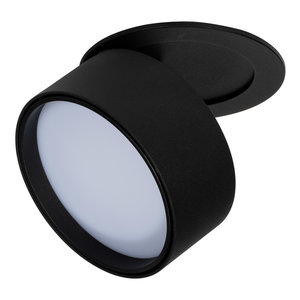 Dimbare LED Inbouw Spot 230 Volt Draaibaar Zwart