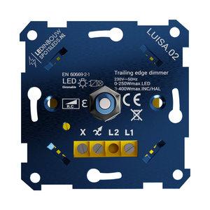 LED Dimmer  0-250 Watt Alleen Fase Afsnijding Geheel Geruisloze Dimmer 100% Knipper Vrij Dimmen Van al uw LED verlichting