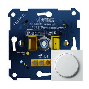 LED Dimmer 0-150 Watt Fase AF en Aansnijding Geheel Geruisloze Dimmer 100% Knipper Vrij Dimmen Van al uw LED verlichting