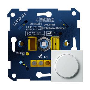 Inbouw LED Dimmer 230 Volt Inclusief Afdekraam