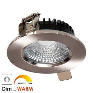 LED Inbouw Spot 7 watt Nikkel