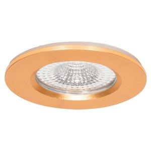 230 Volt LED Inbouwspot Messing