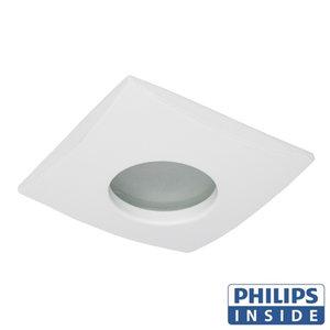 Philips GU10 LED Inbouw spot Vierkant London Wit
