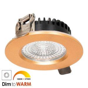 LED Inbouw Spot 7 watt Messing