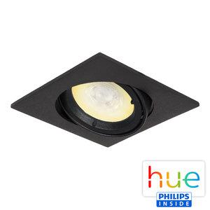 HUE Philips Ambiance GU10 LED Inbouwspot Barcelona Zwart