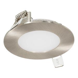Lage LED Inbouw Spot Dimbaar Zilver