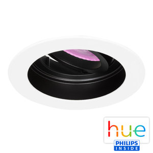 HUE Philips White & Color GU10 LED Inbouw spot Sao Paulo Wit