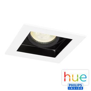 HUE Philips Ambiance GU10 LED Inbouw spot Vierkant Sao Paulo Wit