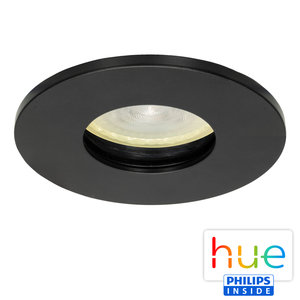 HUE Philips Ambiance GU10 LED Inbouwspot Elisa Zwart