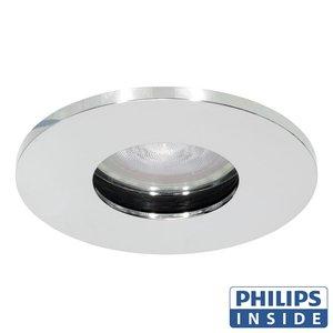 Philips GU10 LED Inbouwspot Elisa Chroom