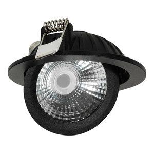 Draaibare & Kantelbare Inbouw LED Spot Dimbaar Zwart