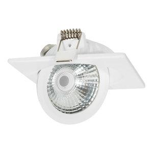 Draaibare & Kantelbare Inbouw LED Spot Dimbaar Wit