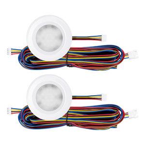 """Set van 2 stuks """"Touch Functie"""" cabinet Inbouw LED spot Dimbaar Wit"""
