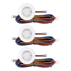 """Set van 3 stuks """"Touch Functie"""" cabinet Inbouw LED spot Dimbaar Wit"""