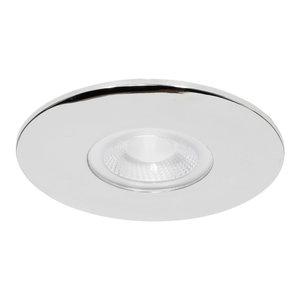 230 Volt Moderne Sfeervolle LED Inbouwspot Dimbaar Chroom