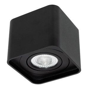 LED Opbouw Spot Dimbaar Zonder Zichtbare Montage Schroeven Zwart