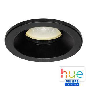 HUE Philips Ambiance GU10 LED Inbouwspot Lais Zwart