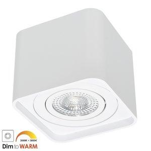 LED Opbouw Spot Dimbaar Zonder Zichtbare Montage Schroeven Wit