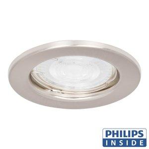 Philips GU10 LED Inbouw Spot Berlin Satijn Nikkel